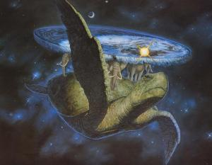 The Discworld, my brain's favourite vacation home, captured in all its glory by Paul Kidby.