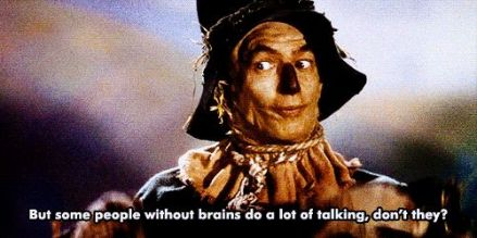 talking without brains